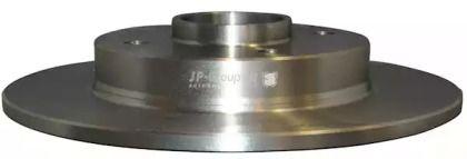 Задний тормозной диск 'JP GROUP 4163200600'.
