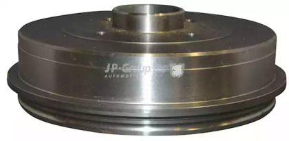 Задний тормозной барабан 'JP GROUP 4363500400'.