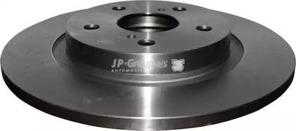 Задний тормозной диск на Тайота Авенсис 'JP GROUP 4863201800'.