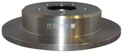 Задний тормозной диск на DODGE CARAVAN 'JP GROUP 5063200100'.