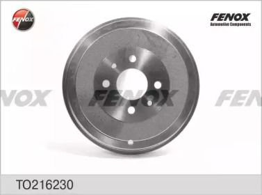 Задний тормозной барабан на FIAT QUBO 'FENOX TO216230'.
