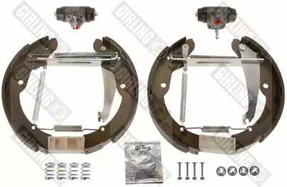 Барабанные тормозные колодки на Шкода Октавия А5 'GIRLING 5314062'.