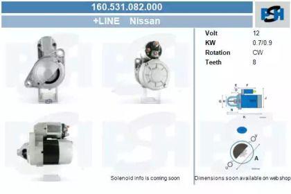 Стартер CV PSH 160.531.082.000.