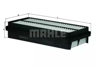 Воздушный фильтр 'MAHLE LX 1691'.