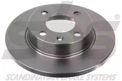 Тормозной диск на Шкода Фаворит 'SBS 1815204305'.