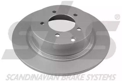 Тормозной диск на JEEP COMPASS 'SBS 1815313083'.