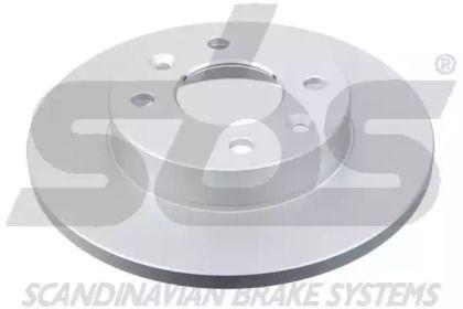 Тормозной диск на Рено Экспресс 'SBS 1815313908'.