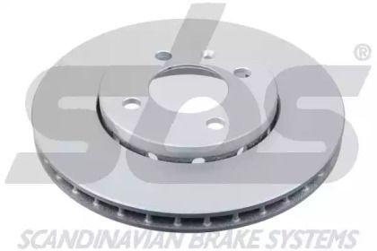 Вентилируемый тормозной диск на Фольксваген Ап 'SBS 18153147157'.