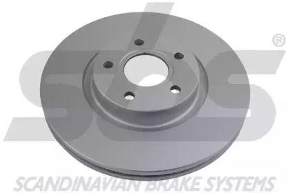 Вентилируемый тормозной диск 'SBS 1815314849'.
