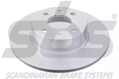 Тормозной диск на Фиат Мультипла 'SBS 1815319928'.