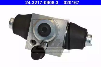 Задній гальмівний циліндр на SKODA CITIGO 'ATE 24.3217-0908.3'.