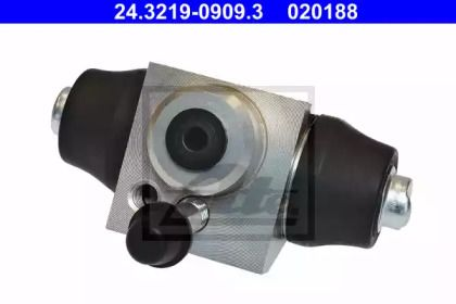Задний тормозной цилиндр 'ATE 24.3219-0909.3'.