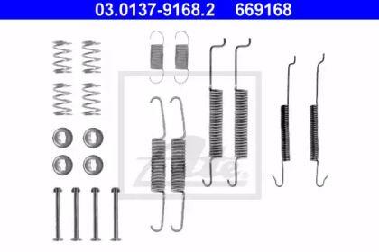 Ремкомплект задних барабанных тормозов на VOLKSWAGEN JETTA 'ATE 03.0137-9168.2'.