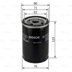 Масляний фільтр на Мазда СХ9 BOSCH 0 451 103 086.