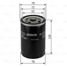 Масляний фільтр на Мазда СХ9 BOSCH 0 451 103 371.