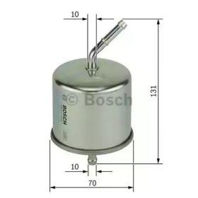Паливний фільтр на MAZDA MX-6 'BOSCH 0 986 450 105'.