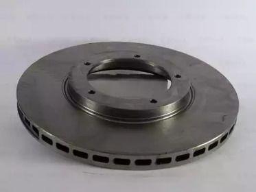 Вентилируемый тормозной диск на PORSCHE 911 'BOSCH 0 986 478 097'.