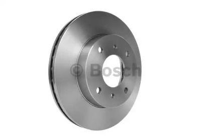 Вентилируемый тормозной диск на Ниссан Скайлайн 'BOSCH 0 986 478 567'.