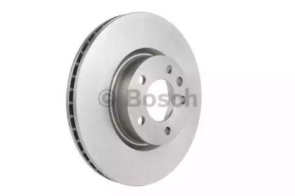 Вентилируемый тормозной диск на OPEL SENATOR 'BOSCH 0 986 478 593'.