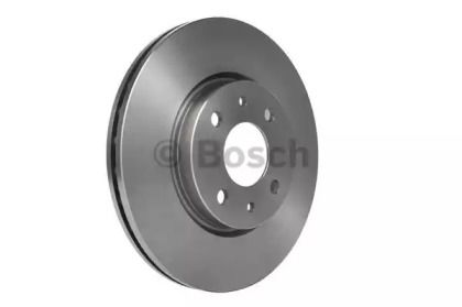 Вентилируемый тормозной диск на Альфа Ромео Мито 'BOSCH 0 986 478 639'.