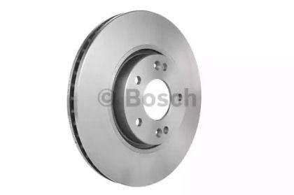 Вентилируемый тормозной диск на Хендай Ай40 'BOSCH 0 986 479 595'.