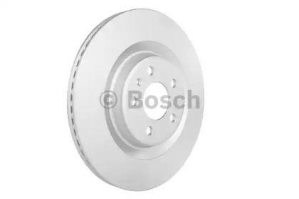 Вентилируемый тормозной диск на Порше Макан 'BOSCH 0 986 479 750'.