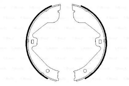 Гальмівні колодки ручника на Mercedes-Benz Gl-Class  BOSCH 0 986 487 705.
