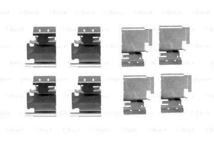 Скобы тормозных колодок на Шкода Октавия А5  BOSCH 1 987 474 312.