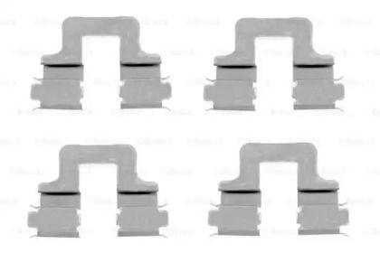 Скобы тормозных колодок на Шкода Октавия А5  BOSCH 1 987 474 314.