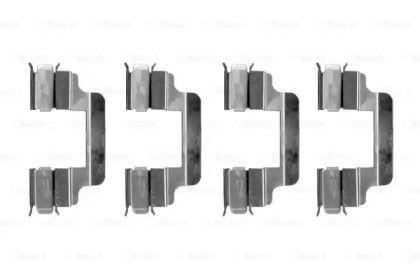 Скобы тормозных колодок на ALFA ROMEO 159 'BOSCH 1 987 474 315'.