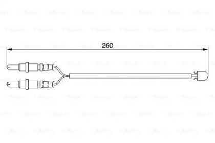 Датчик зносу гальмівних колодок BOSCH 1 987 474 975.