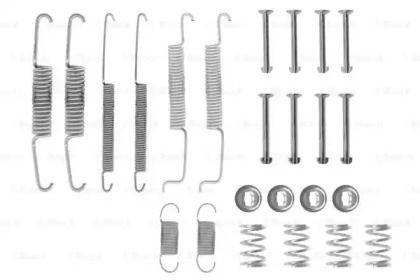 Ремкомплект задних барабанных тормозов на VOLKSWAGEN PASSAT 'BOSCH 1 987 475 002'.