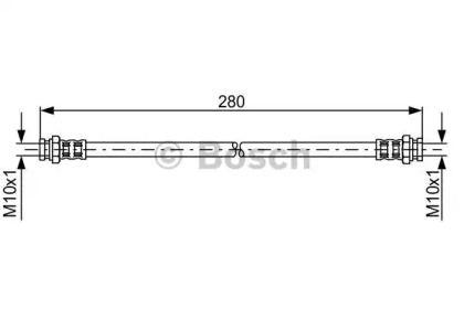 Гальмівний шланг на Мазда МХ6 'BOSCH 1 987 476 985'.