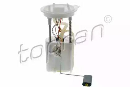 Электрический топливный насос на SKODA OCTAVIA A5 'TOPRAN 115 636'.