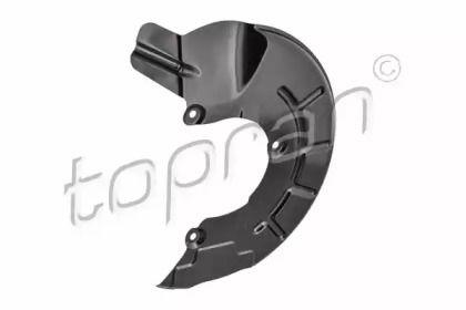 Захисний кожух гальмівного диска на SKODA RAPID 'TOPRAN 116 445'.