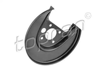 Защитный кожух тормозного диска на Фольксваген Гольф 'TOPRAN 116 069'.