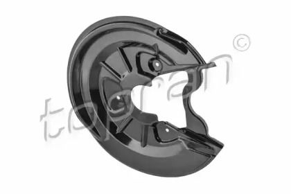 Защитный кожух тормозного диска на VOLKSWAGEN JETTA 'TOPRAN 116 817'.