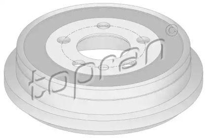 Задний тормозной барабан 'TOPRAN 110 039'.