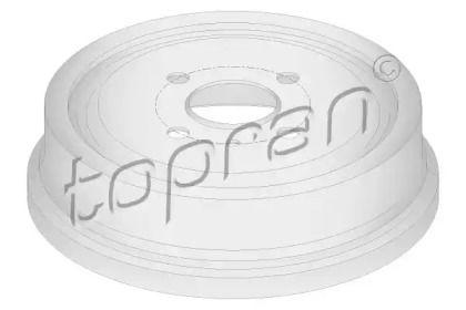 Задний тормозной барабан 'TOPRAN 205 238'.
