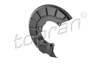 Защитный кожух тормозного диска на Фольксваген Пассат 'TOPRAN 116 066'.