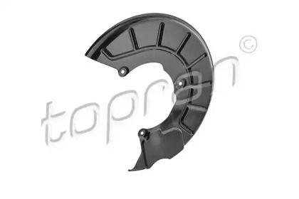 Защитный кожух тормозного диска на VOLKSWAGEN PASSAT 'TOPRAN 116 065'.