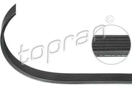 Поликлиновой ремінь на Мерседес ГЛЦ  TOPRAN 302 093.
