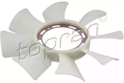 Крыльчатка вентилятора охлаждения двигателя 'TOPRAN 820 647'.
