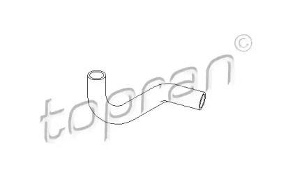 Патрубок радиатора на SEAT TOLEDO 'TOPRAN 102 715'.