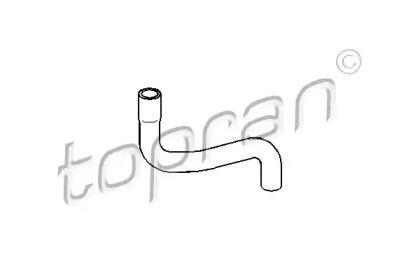 Патрубок радиатора на Сеат Толедо 'TOPRAN 109 015'.