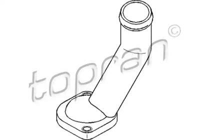 Фланец охлаждающей жидкости на SEAT ALTEA 'TOPRAN 108 189'.
