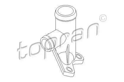 Фланец охлаждающей жидкости на SEAT TOLEDO 'TOPRAN 100 260'.