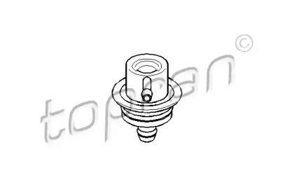 Регулятор давления топлива на SEAT TOLEDO 'TOPRAN 108 125'.
