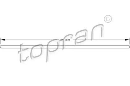 Гидравлический выжимной подшипник сцепления на Фольксваген Джетта 'TOPRAN 100 074'.