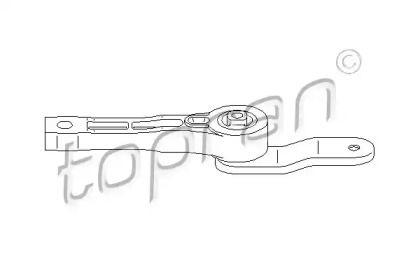 Задняя подушка КПП на SEAT ALTEA 'TOPRAN 110 131'.